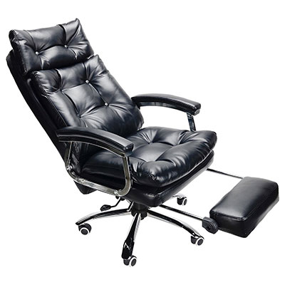5 Co Z Executive High Back Reclining Ning Office Chair With Footrest