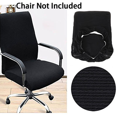 #1: BTSKY Office Computer Chair Covers