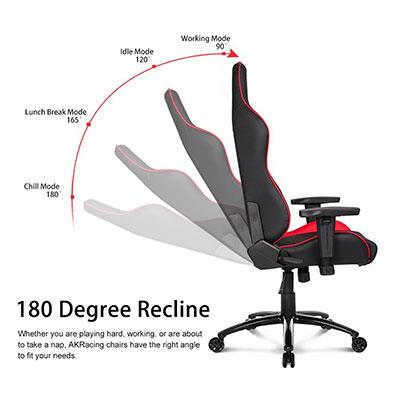 Remarkable Akracing Nitro Series Premium Gaming Chair Recline Theyellowbook Wood Chair Design Ideas Theyellowbookinfo