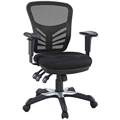 modway articulate ergonomic mesh office chair review