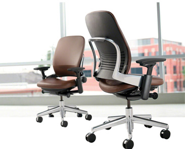 Steelcase Leap Vs Aeron Office Chair Comparison